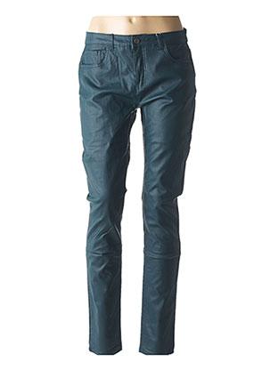 Jeans coupe slim bleu FRANSA pour femme