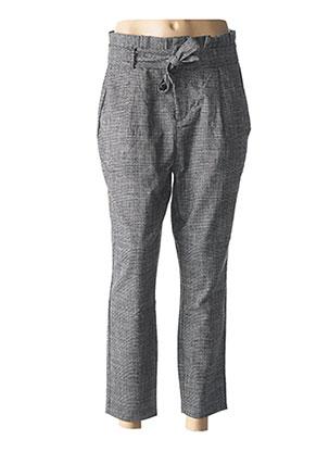 Pantalon casual gris VERO MODA pour femme