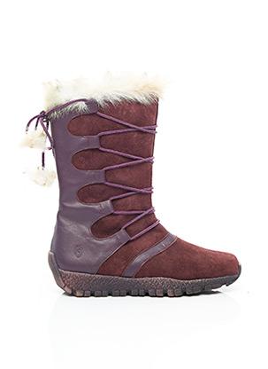 Bottes violet GBB pour femme