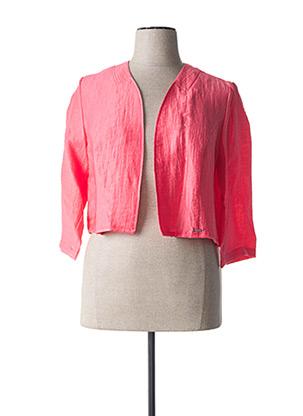Veste casual rose DIANE LAURY pour femme