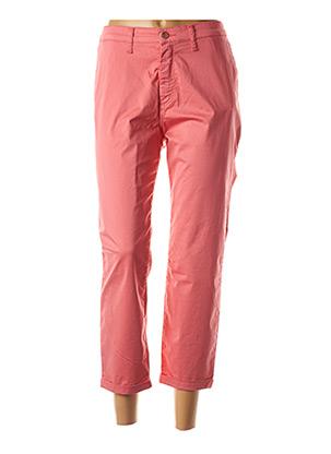 Pantalon 7/8 rose LCDN pour femme