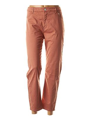Pantalon casual marron KANOPE pour femme