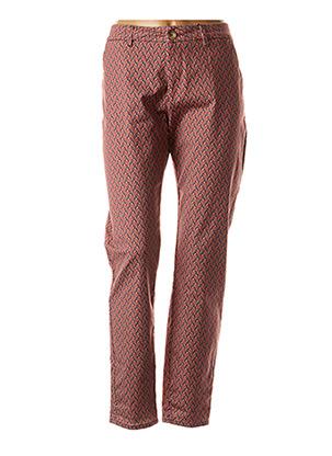 Pantalon casual rouge KANOPE pour femme