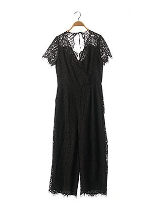 Combi-pantalon noir JULIE GUERLANDE pour femme