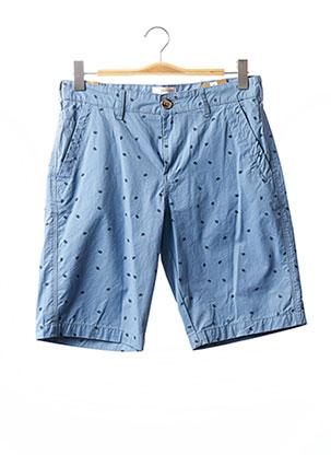 Bermuda bleu TIBET pour homme