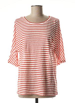 T-shirt manches longues rouge GERARD DAREL pour femme