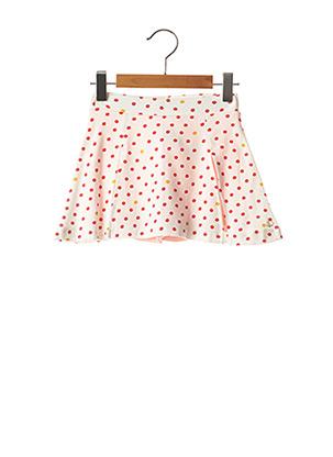 Jupe courte blanc PETIT BATEAU pour fille