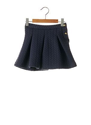 Jupe courte bleu PETIT BATEAU pour fille