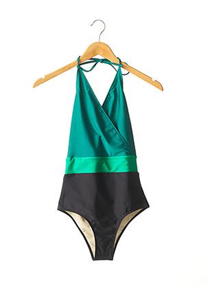 Maillot de bain 1 pièce vert FRENCH DISORDER pour femme