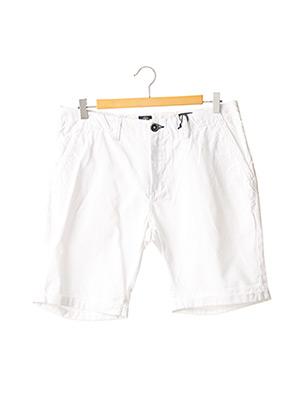 Short blanc DSTREZZED pour homme