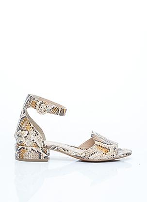 Sandales/Nu pieds beige BRUNO PREMI pour femme