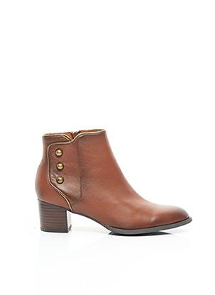 Bottines/Boots marron MAM'ZELLE pour femme