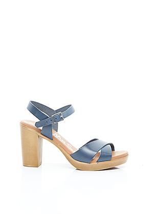 Sandales/Nu pieds bleu OH ! MY SANDALS pour femme