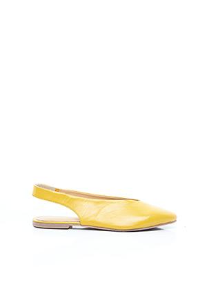 Ballerines jaune GIOSEPPO pour femme