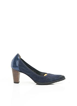 Escarpins bleu MYMA pour femme