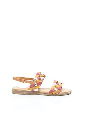 Sandales/Nu pieds orange MARCO TOZZI pour femme