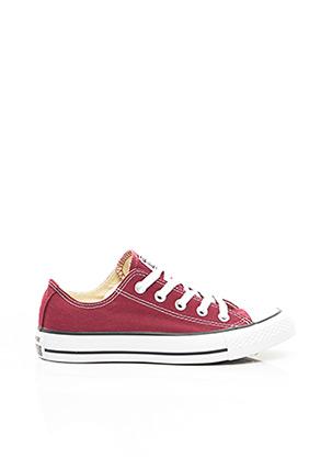 Baskets rouge CONVERSE pour fille