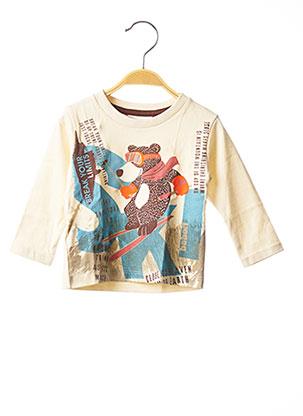 T-shirt manches longues beige BOBOLI pour garçon