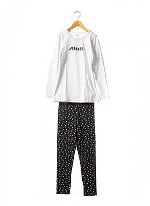 Pyjama noir DIM pour fille