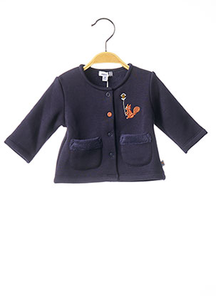 Veste casual bleu ABSORBA pour fille
