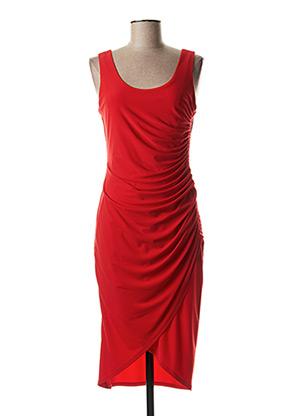 Robe longue rouge JOSEPH RIBKOFF pour femme