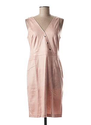 Robe mi-longue rose EVA KAYAN pour femme