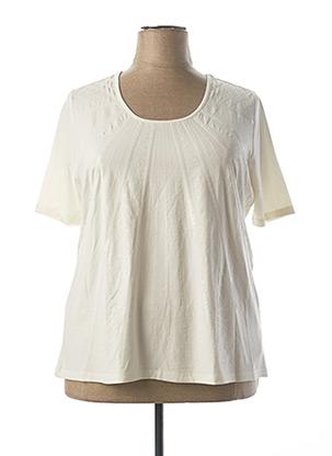 T-shirt manches longues beige BETTY BARCLAY pour femme