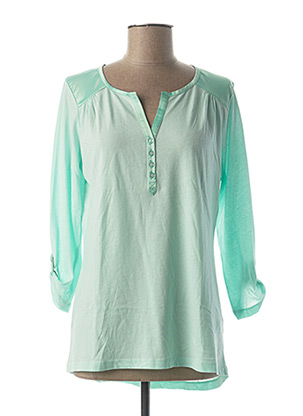 T-shirt manches longues vert BETTY BARCLAY pour femme