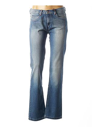 Jeans coupe droite bleu DIPLODOCUS pour femme