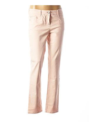 Jeans coupe droite rose ATELIER GARDEUR pour femme
