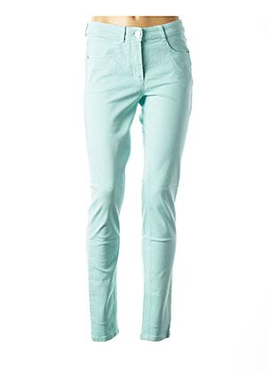 Jeans coupe slim bleu BASLER pour femme