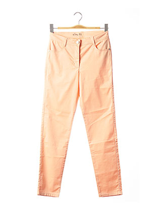 Pantalon casual orange BETTY BARCLAY pour femme