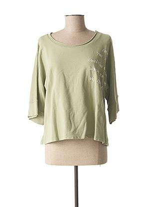 Sweat-shirt vert EGO pour femme