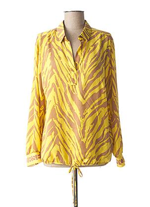 Blouse manches longues jaune BETTY BARCLAY pour femme