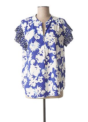 Blouse manches courtes bleu BETTY BARCLAY pour femme