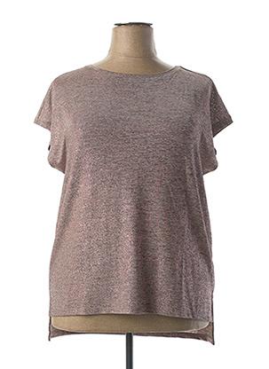 T-shirt manches courtes rose BETTY BARCLAY pour femme