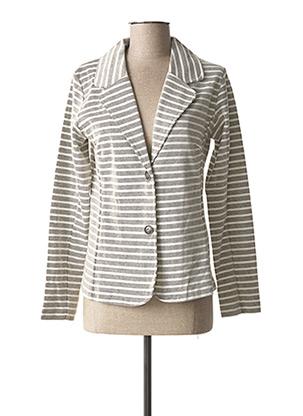 Veste casual gris JENSEN pour femme