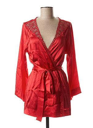 Robe de chambre rouge SIMONE PERELE pour femme
