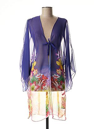 Veste casual violet TYCHE VALERIE pour femme