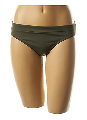 Bas de maillot de bain vert PRIMA DONNA pour femme