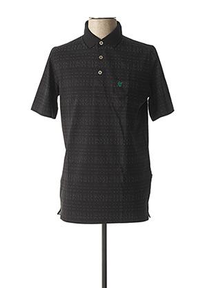 T-shirt manches courtes noir HAJO pour homme