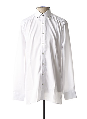 Chemise manches longues blanc OLYMP pour homme