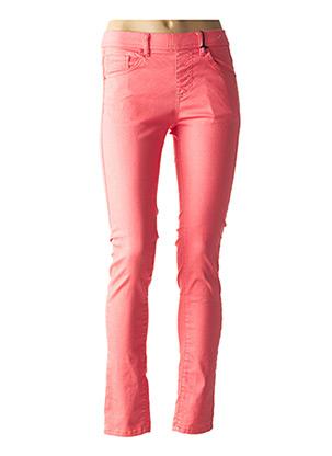 Pantalon casual rose S.QUISE pour femme