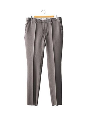 Pantalon casual marron PIERRE D'ARLANC pour homme
