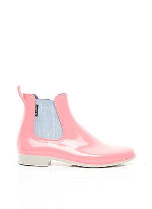 Bottines/Boots rose MEDUSE pour femme
