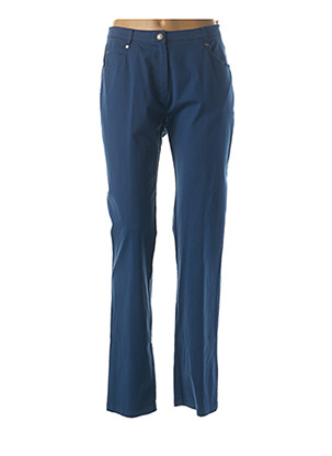 Pantalon casual bleu JUMFIL pour femme