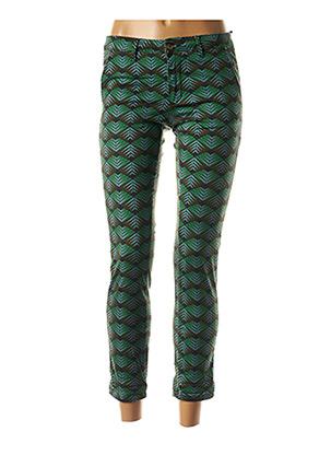 Pantalon 7/8 vert HOD pour femme
