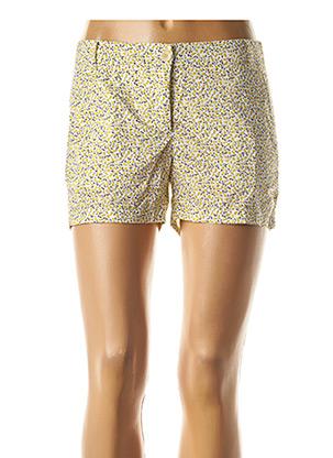 Short jaune HARTFORD pour femme