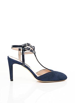 Escarpins bleu PARALLELE pour femme