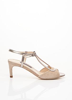 Sandales/Nu pieds beige PARALLELE pour femme